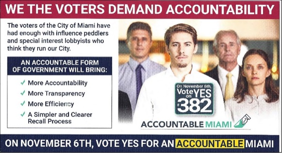 October 1st - The Mayor of Miami had developed an arrogant